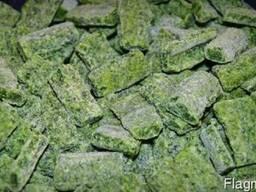 Замороженный шпинат листовой
